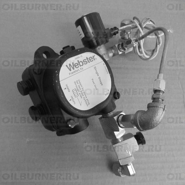 Насос топливный с фитингами (EL-375B, EL-500B, EL-750B) (Webster SK) 04000250