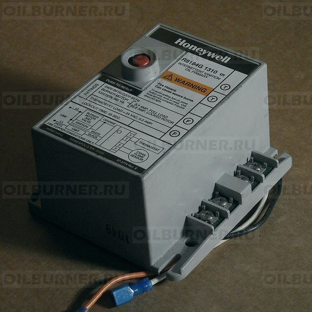 Контроллер горелки Honeywell R8184G 20280190